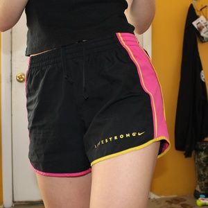 Nike Shorts - Nike Livestrong Athletic Shorts